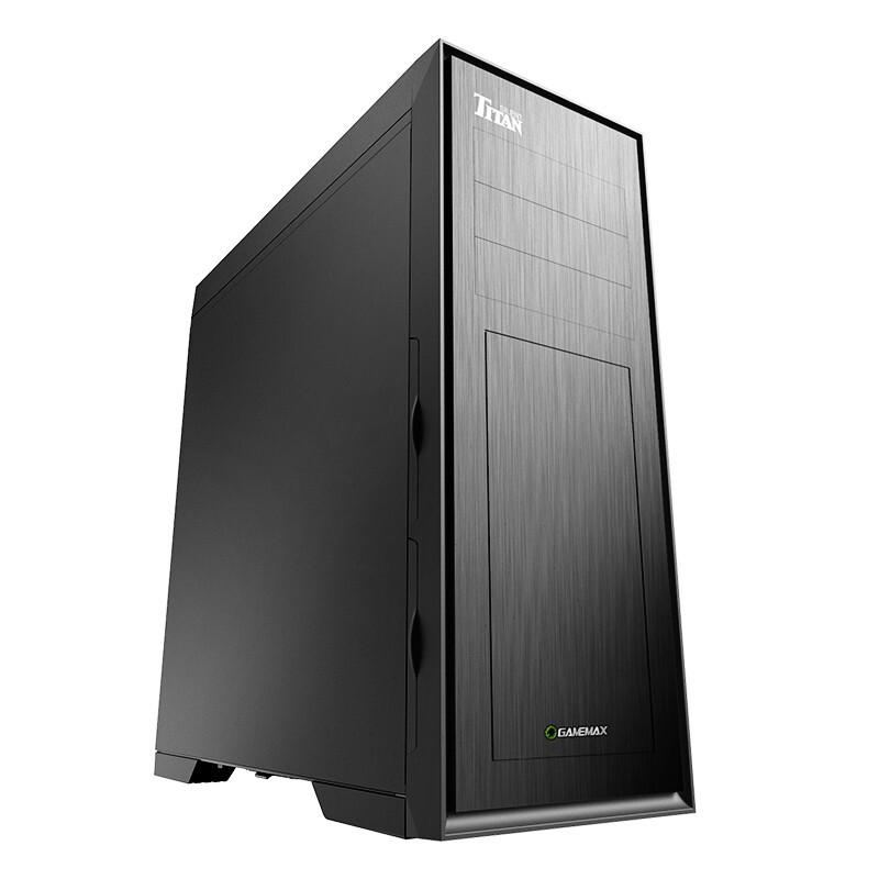 限地区 : GAMEMAX 游戏帝国 巨人 Slient EATX机箱 非侧透 黑色