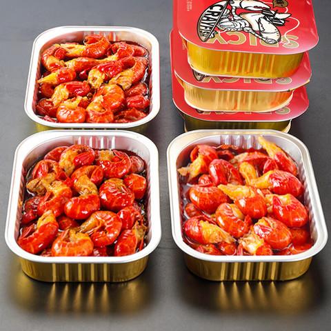 京东PLUS会员:首鲜道 麻辣虾尾 加热即食 6盒3斤 共180-210只