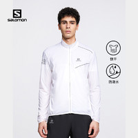 Salomon萨洛蒙户外跑步防风夹克男款夏季新品皮肤风衣SENSEJACKET