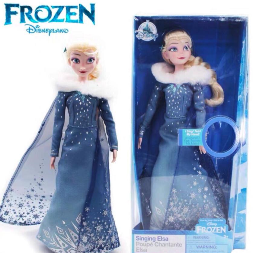 Disney 迪士尼 冰雪奇缘联名系列 艾莎冬装唱歌