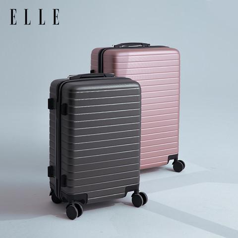 ELLE 她 学生旅行拉杆箱行李箱 20寸