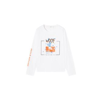 IMONE 艾漫 西蒙的猫联名系列 女士长袖T恤 ATT071W