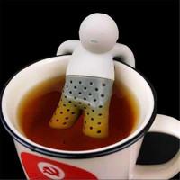 木杰 硅胶个性泡茶小人 1个装