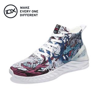 IDX/爱定客/嘲风 匹克态极联名款太极中国风涂鸦帆布鞋男女运动鞋