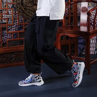 IDX/爱定客/睚眦 匹克态极联名款太极中国风潮鞋帆布鞋男女篮球鞋
