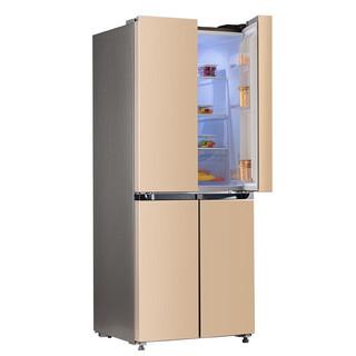 sonluk 双鹿 BCD-400WQVYD 风冷 十字对开门冰箱 400L 玫瑰金