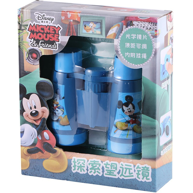 Disney 迪士尼 米老鼠和唐老鸭 SSD-402M 迪士尼探索望远镜 米奇 170*200mm