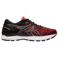 ASICS 亚瑟士 Gel-Nimbus 22 男子跑鞋 1011A680-601 黑红款