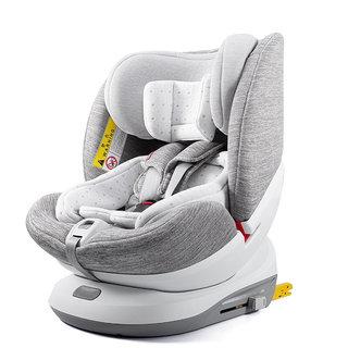 EURO KIDS 袋鼠爸爸 Q-MAN S6 儿童安全座椅 0-6岁 爵士灰