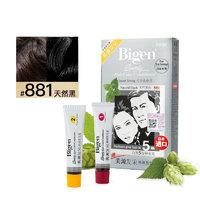 Bigen 美源 发采快速黑发霜 #881天然黑色 80g