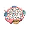 Wangao 万高 电动磁性钓鱼盘 磁性电池款 粉色 45鱼4竿+音乐