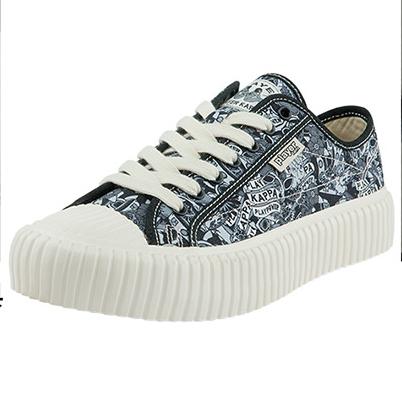 Kappa 卡帕 玩家系列 摇滚主题款 中性运动帆布鞋 K0BX5VS11D