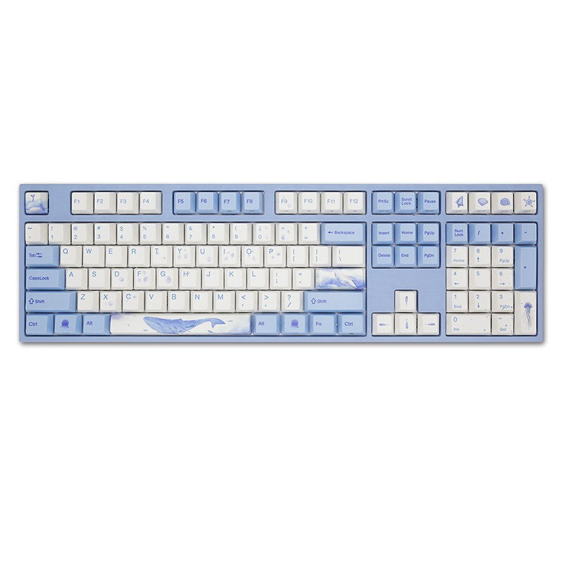 Varmilo 阿米洛 MA108 海韵 108键 有线静电容键盘