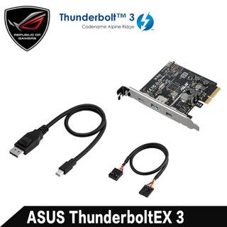 华硕 ThunderboltEX 3 PCI-E转雷电3 主板扩展卡