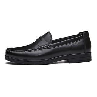 881329 男士头层牛皮乐福鞋