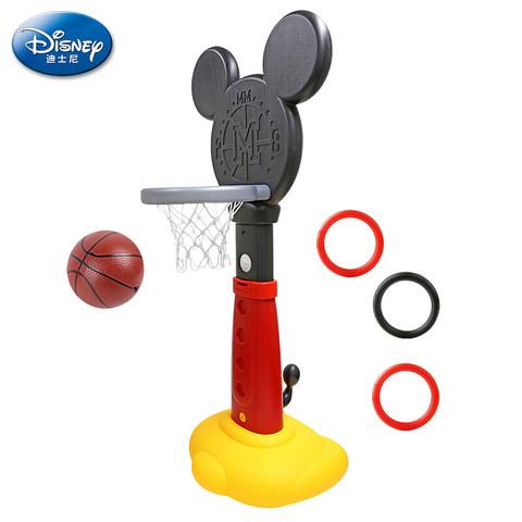 Disney 迪士尼 儿童篮球架 男孩玩具可升降篮球框调节高度 室内家用健身玩具Disney米奇款