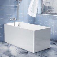 SSWW 浪鲸 D-1051 独立式浴缸 1m