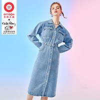 EPTISON 衣品天成  KH联名款 BWQ003L  女士连衣裙