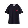 TOYOUTH 初语 Keith Haring联名系列 男女款短袖T恤 KH8120131139 活性黑 XXL