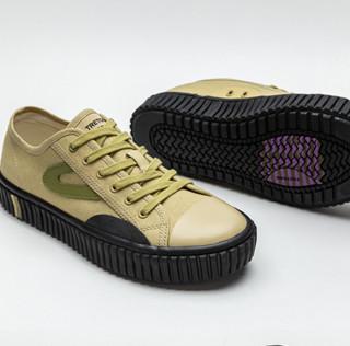 Tretorn CamposTOKYO 中性运动帆布鞋 T1SCPCR02-IV 卡其色 40