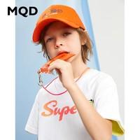 MQD 马骑顿 儿童短袖T恤 活力橙