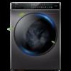 Haier 海尔 晶彩系列 EG100BDC189SU1 直驱 滚筒洗衣机 10KG 玉墨银