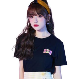 Puella 甜心怪兽联名款 女士短袖T恤 2A11386XTIP101