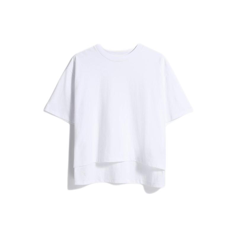 Gap 盖璞 重磅密织系列 女士短袖T恤 629536 白色 M/L