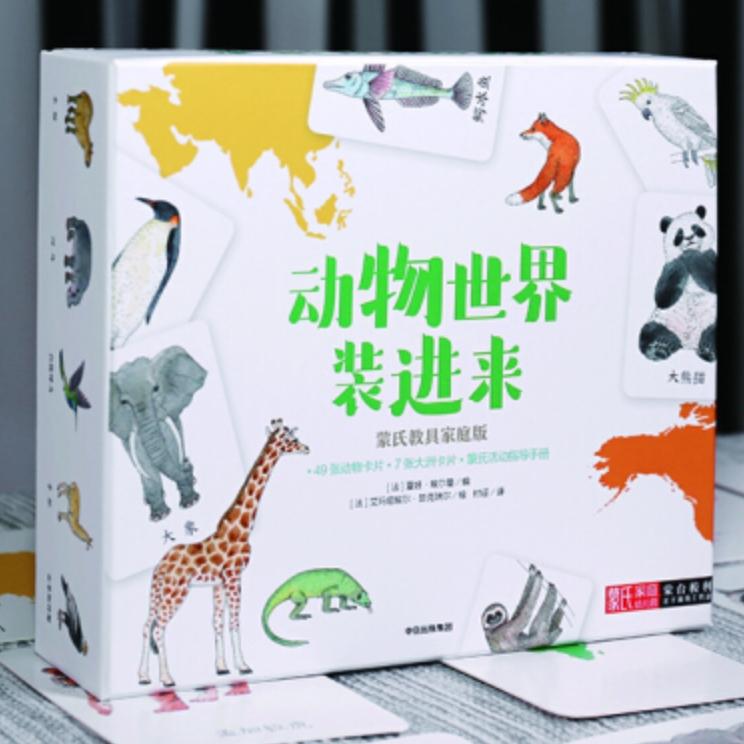 14日0点 : 《动物世界装进来》(蒙台梭利亲子游戏工具盒)