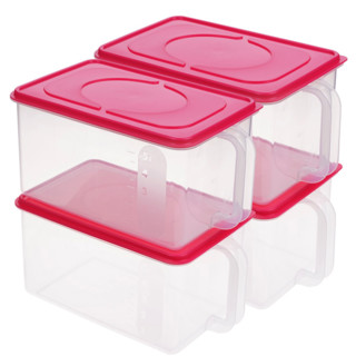 inomata 1226B 全密封冰箱收纳盒 5L