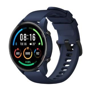 MI 小米 color运动版 智能手表 深空蓝塑料表壳 深空蓝橡胶表带 (北斗、GPS、血氧)