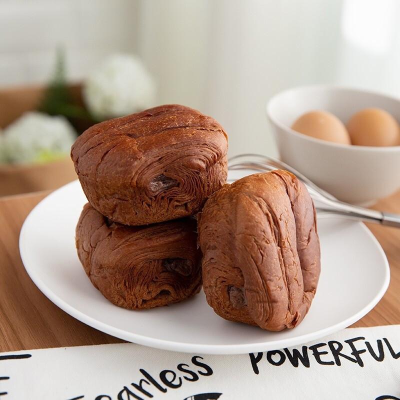 山兄弟 脏脏面包 网红巧克力味可可面包 50g*10袋