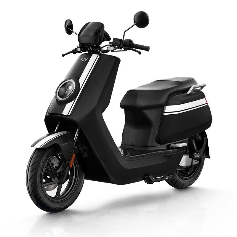 Niu Technologies 小牛电动 小牛电动 NQi GT PRO 顶配版 电动摩托车 RS3000DT-4A 60V35Ah锂电池 黑白色