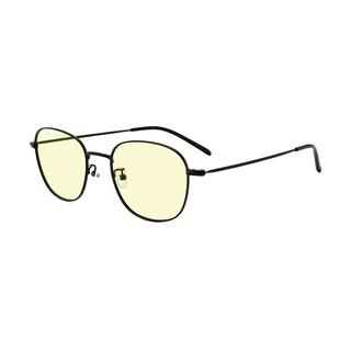 Lemon 柠檬 M1021 黑色合金眼镜框+1.56折射率 防蓝光镜片