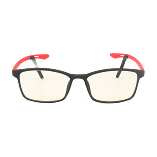 Blutech 1805 中国红TR90眼镜框+防蓝光镜片