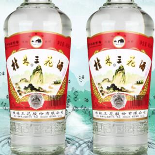 桂林三花 38%vol 米香型白酒 480ml 单瓶装