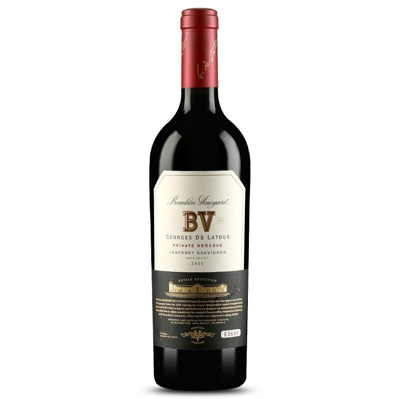璞立酒庄 纳帕谷系列干红葡萄酒 璞立酒庄乔治拉图私人珍藏赤霞珠 750ml
