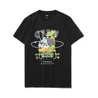 LI-NING 李宁 MARS系列 外星遗迹 中性运动T恤 AHSR554