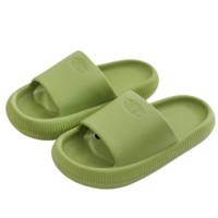 华美健步 HM9018 儿童拖鞋 绿豆色 30-31
