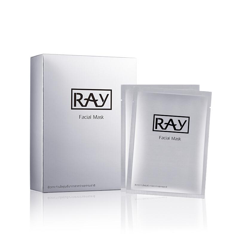 RAY 银色蚕丝面膜 10片