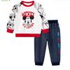 Disney 迪士尼 男童米奇长袖长裤套装