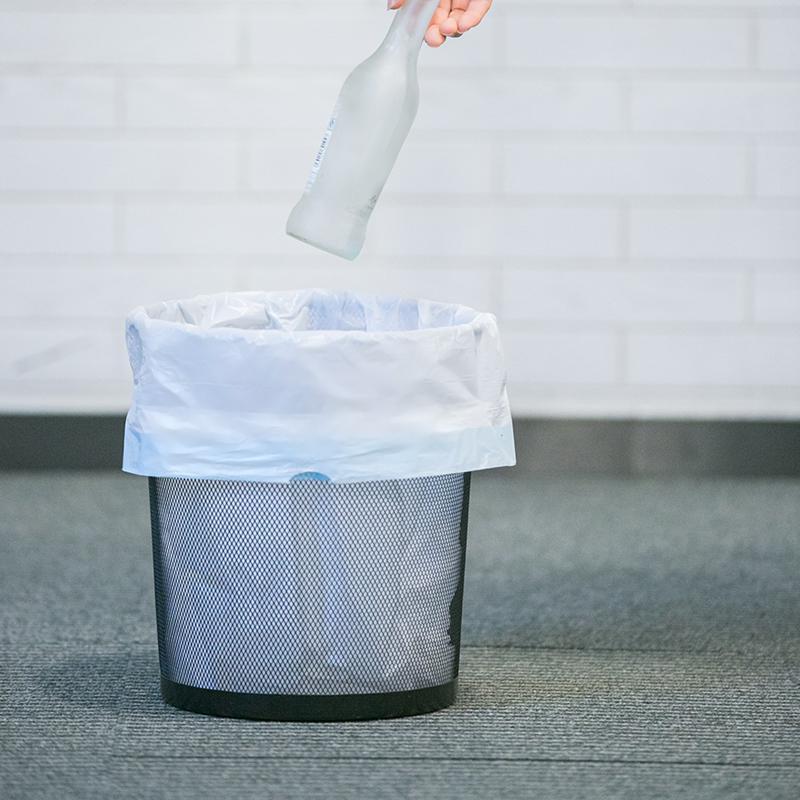 周年庆专供 加厚抽绳式垃圾袋囤货(18卷)