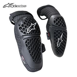 alpinestars 摩托车护膝护肘骑士护具机车赛车骑行装备透气夏季 S 护膝一对