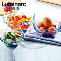 Luminarc 乐美雅 玻璃沙拉碗套装 6件套