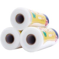 汉世刘家 大卷保鲜膜pe食品级家用经济装耐高温 宽30×1000克(大卷紧膜约800米)