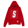 STAYREAL 男女款连帽卫衣 SH18008-1 红色 S