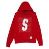STAYREAL 男女款连帽卫衣 SH18008-1 红色 L