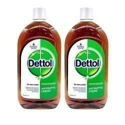 Dettol 滴露 进口消毒液 1L*2瓶