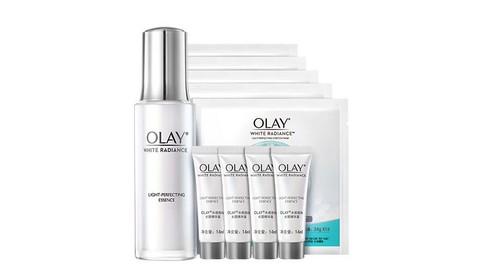 OLAY 玉兰油 OLAY光感小白瓶水感精华液+面膜烟酰胺美白补水保湿护肤套装