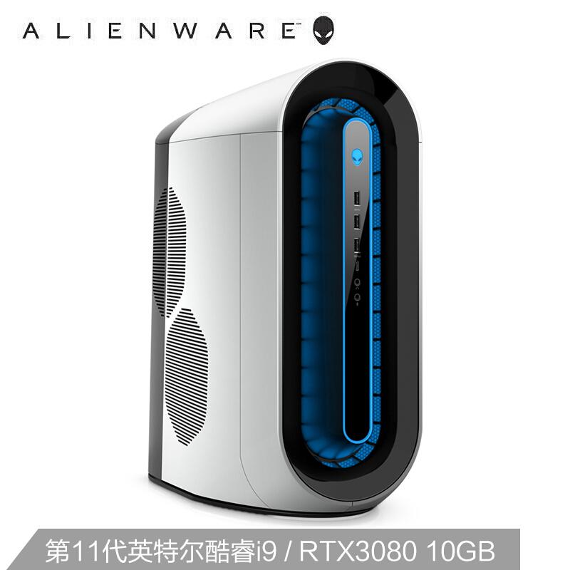 Alienware 外星人 Alienware 外星人 Aurora R12 水冷台式电脑主机(i9-11900K、64GB、1TB SSD+1TB、RTX3080)